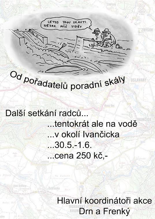 Plakát Setkání rádců na vodě